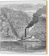 South: Cotton, 1861 Wood Print