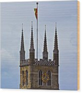 Southwark Cathedral London Wood Print
