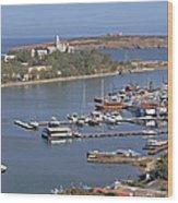 Sozopol Harbour Wood Print