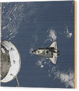 Space Shuttle Endeavour, A Russian Wood Print