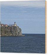 Split Rock Lighthouse 82 Wood Print
