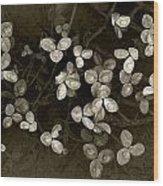 Spring Clover Wood Print