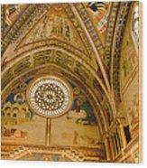 St Francis Basilica   Assisi Italy Wood Print
