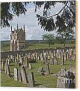 St James Church Graveyard Wood Print