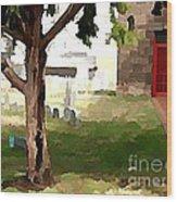 St. James Tree Wood Print