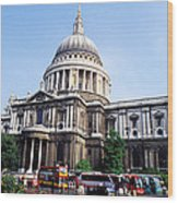 St. Paul's Cathedral In London Wood Print