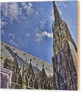 St Stephens - Vienna Wood Print