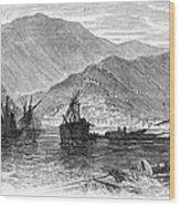 St. Thomas: Hurricane, 1867 Wood Print