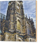 St Vitus Cathedral - Prague Wood Print