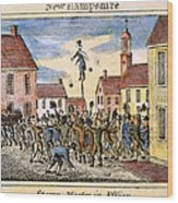 Stamp Act: Protest, 1765 Wood Print