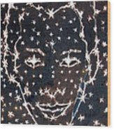 Starry Eyed Wood Print by Dennis Goodbee
