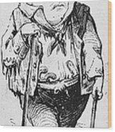 Stephen Arnold Douglas Wood Print
