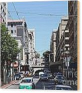 Stockton Street Tunnel In San Francisco Wood Print