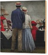 Store - The Hat Stand  Wood Print