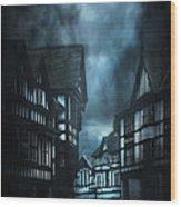 Storm Is Coming Wood Print by Svetlana Sewell