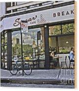 Sugar Breakfast Wood Print