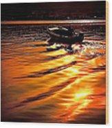Sun Road Wood Print