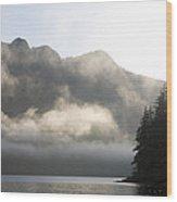 Sunrise In Haida Gwaii Wood Print