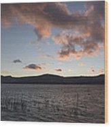 Sunset Over Lake Tahoe Wood Print