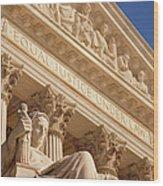 Supreme Court Wood Print