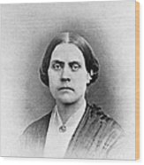 Susan B. Anthony, American Civil Rights Wood Print