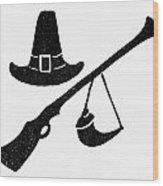 Symbol: Thanksgiving Wood Print