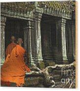 Ta Prohm Cambodia Wood Print