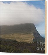 Table Mountain National Park Wood Print by Fabrizio Troiani