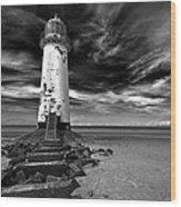 Talacre Lighthouse Wood Print