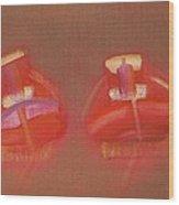 Tavira Boats Wood Print