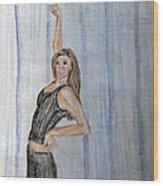 Taylor's Haunting Wood Print