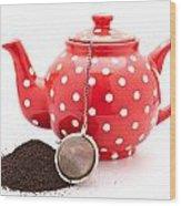 Teapot Wood Print