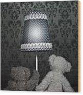 Teddy Bears Wood Print