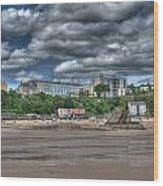 Tenby North Beach Wood Print