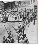 Textile Strike, 1934 Wood Print