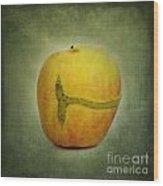 Textured Apple Wood Print