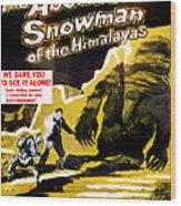 The Abominable Snowman, Aka The Wood Print