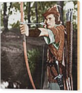 The Adventures Of Robin Hood, Errol Wood Print by Everett