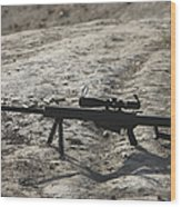 The Barrett M82a1 Sniper Rifle Wood Print