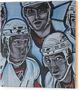 The Capitals Wood Print