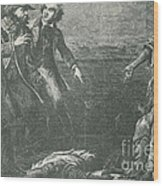 The Capture Of Margaret Garner Wood Print