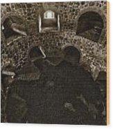 The Castle Of Tavastehus Bw Wood Print