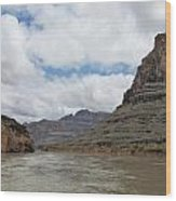 The Colorado River-a Grand Canyon Perspective II Wood Print