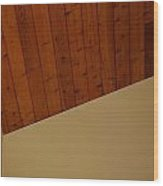 The Corner Wood Print