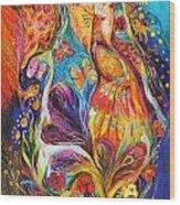 The Dance Of Butterflies Wood Print by Elena Kotliarker