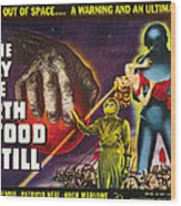 The Day The Earth Stood Still, 1951 Wood Print