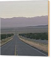 The Desolate Highway 50 Wood Print