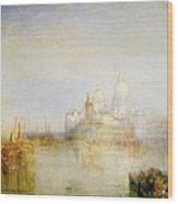 The Dogana And Santa Maria Della Salute Venice Wood Print