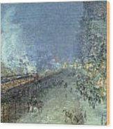 The El Wood Print by Childe Hassam