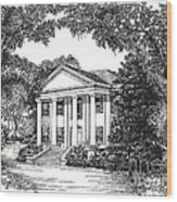 The Grove Tallahassee Florida Wood Print
